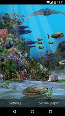 3 3D Aquarium Live Wallpaper HD