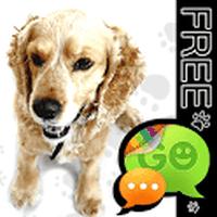 Ikon GO SMS Pro Anjing Lucu Tema