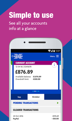 Halifax Mobile Banking app Android - Free Download Halifax