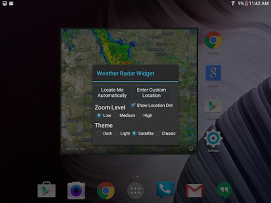 Weather Radar Widget Android - Free Download Weather Radar