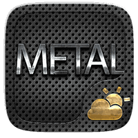 Metal Weather Widget Theme apk icon