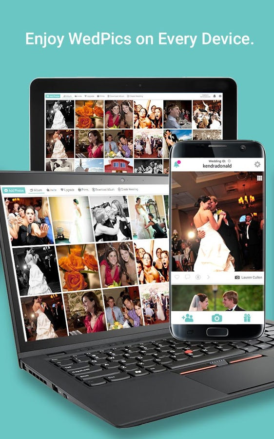 Wedpics Wedding Photo App App Android Kostenloser Download