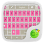Pink Suit GO Keyboard Theme 3.87