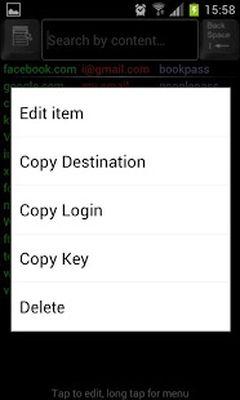 Cloud Password Manager screenshot apk 5