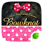 Bowknot GO Keyboard Theme 4.5