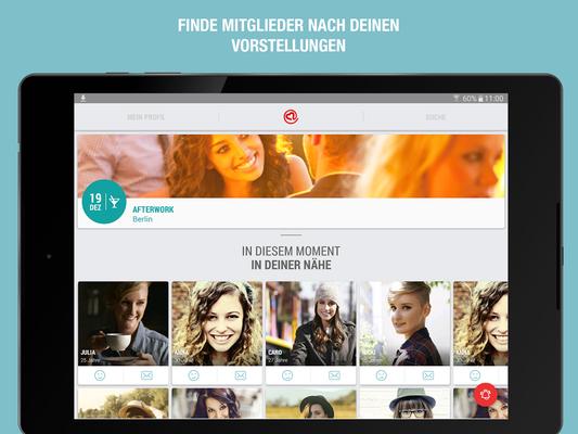 Partner-App finden