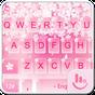 Pink Sakura Snow Keyboard 6.1.20