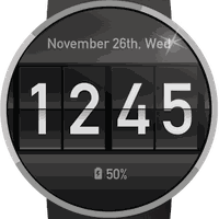 Flip Clock Watch Face Simgesi