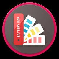 Battery Bar : Energy Bars on Status bar icon