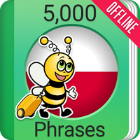 Ícone do Learn Polish Phrasebook - 5000 Phrases