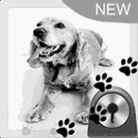 Cute Dog Theme for GO Locker icon