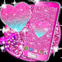 Ikon Pink glitter live wallpaper