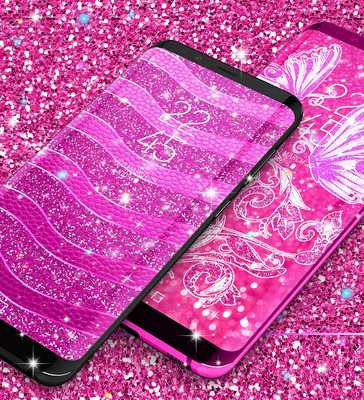 Pink Glitter Live Wallpaper 10 Download Gratis Android