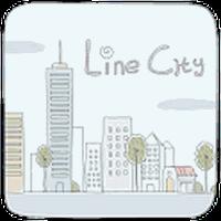 Apk Line City GO Launcher Theme