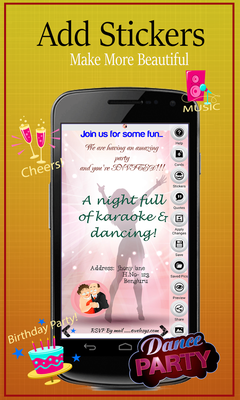 Party Invitation Card Maker Android Free Download Party