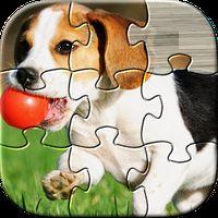 Ícone do Dog Puzzles Kids Games