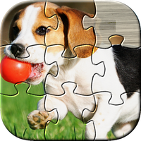 Dog Puzzles Kids Games icon