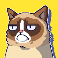Ícone do Grumpy Cat: Um Jogo Horrível