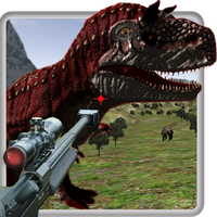 Icône de Jungle dinosaures Chasse - 3D