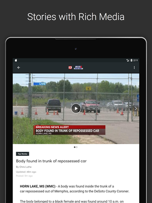 WLOX Local News Android - Free Download WLOX Local News App