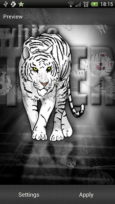 White Tiger Live Wallpaper Android Free Download White Tiger Live