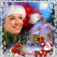 Icono de Navidad Marcos Para Fotos