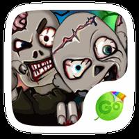 Zombies GO Keyboard Theme apk icon