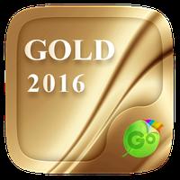 Gold 2016 GO Keyboard Theme icon