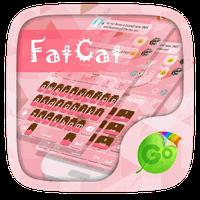 Fat Cat GO Keyboard Theme apk icon