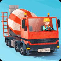 Kleine Bauarbeiter Icon