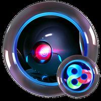 Neon Metal Go Launcher icon