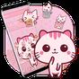 Cute Pink Kitty Theme Kawaii Sweet icon 1.1.3