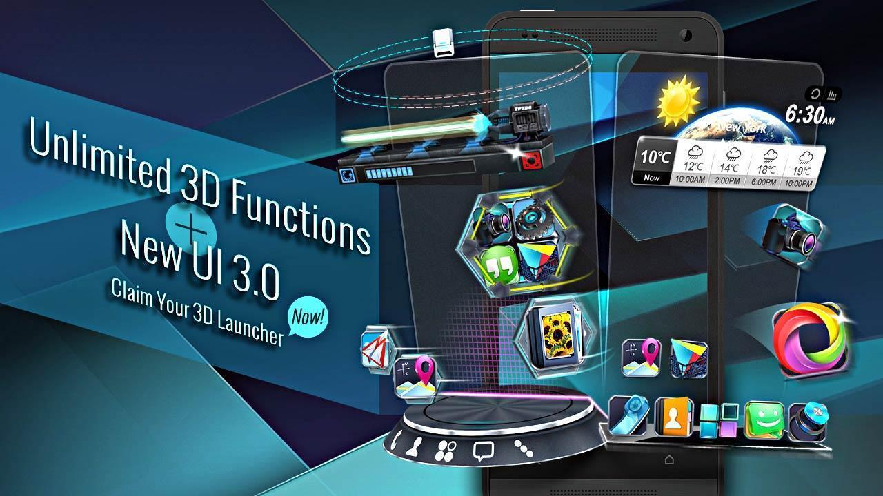 Baixar Next Launcher 3D Shell Lite 3 7 6 1 APK Android grátis
