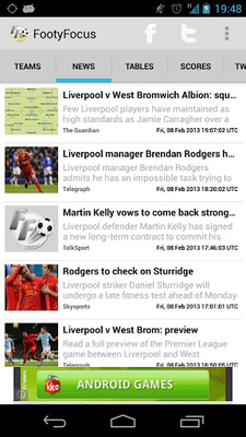Live Soccer Scores Android - Free Download Live Soccer