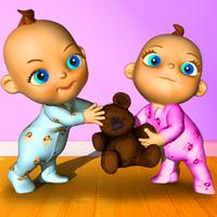 konuşma bebek ikizler - Babsy Simgesi