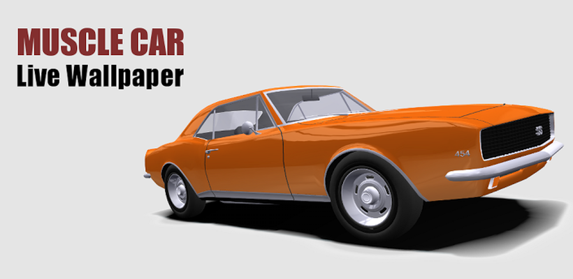 Muscle Car 3d Live Wallpaper Android Free Download Muscle Car 3d