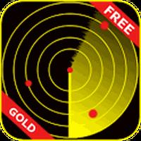 Icône apk Scanner radar d'or