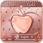 Crystal Apple Rose Gold - Music Keyboard Theme 10001004