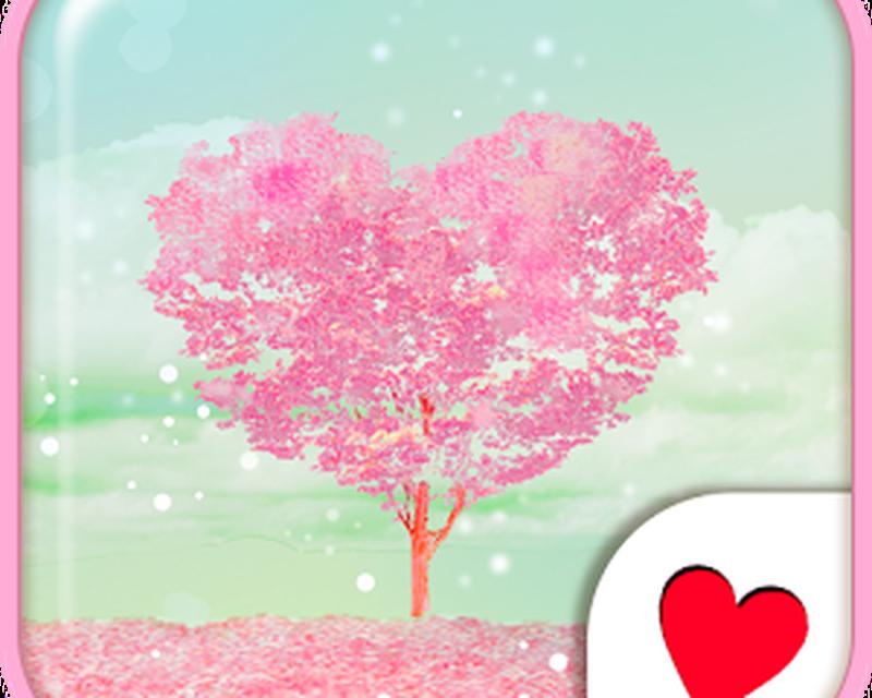 Descargar Cute Wallpaperpink Heart Tree 11 Gratis Apk Android
