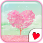 Cute wallpaper★Pink Heart Tree 1.1 APK