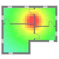Wi-Fi Heatmap 아이콘