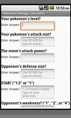 Download Pokemon Damage Calculator 2 0 free APK Android