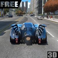 Icône apk Driving The Batmobile