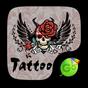 Tattoo Go Keyboard theme 4.2