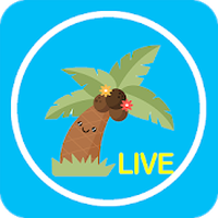 Ikon apk Coconut Live Video Chat - Meet new people