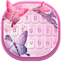 Pembe Kelebekler Klavye  APK