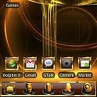 GOLD Go Launcher EX theme Simgesi