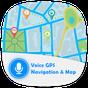Voz GPS y mapa