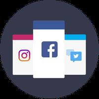 Ícone do FlySo - Social Networks