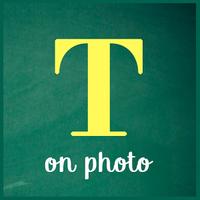 Ícone do texto em fotos